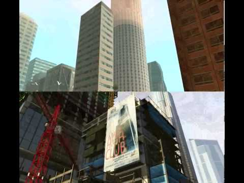 Comparao de GTA V e GTA San Andreas