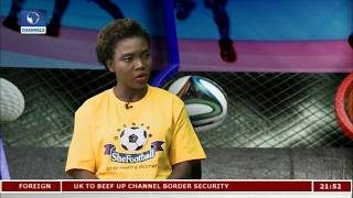 Ayisat Yusuf-Aromire Takes 'She-Football' Campaign To The Grassroots Pt.2 |Sports Tonight|