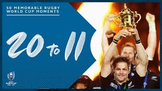 Most Memorable Moments in Rugby World Cup History | 20-11