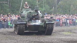 Stahl auf der Heide 2014 ♦ M48 Patton Medium Bae Tank Panzer Bundeswehr in Action