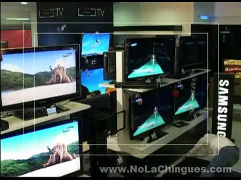Asi se roba una Television - No La Chingues.com