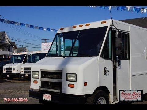 2002 Ford Step Van E350 Food Truck Fed Ex For Sale Youtube