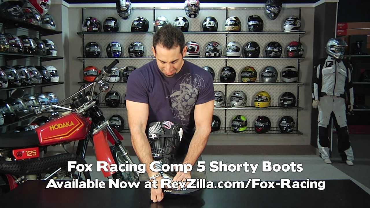 Comp 5 Shorty Boots Fox Racing Comp 5 Boots Review