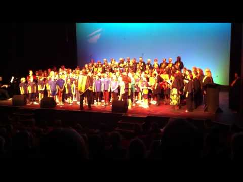 DesertSong combined choir sings 'Welcome to All People' - a tribute to Ruby Hunter