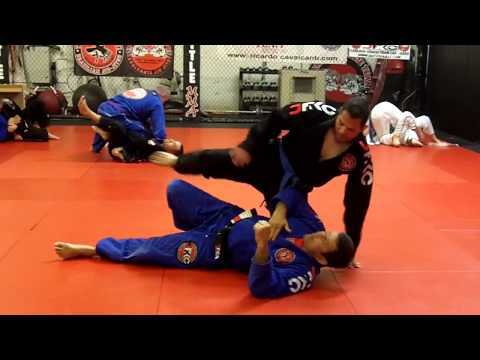 Jiu Jitsu Techniques - Armbar Defense Image 1