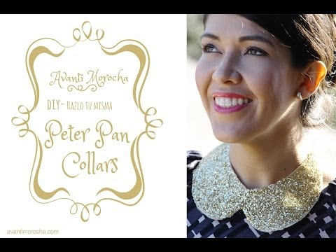 DIY Peter Pan Collar necklaces