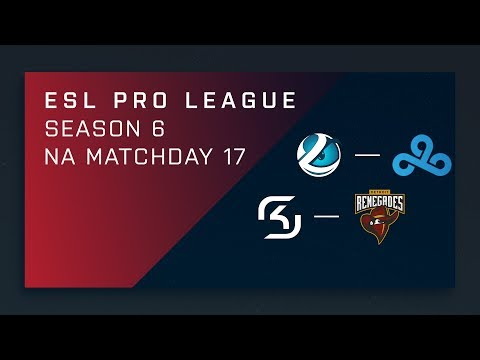 CS:GO: Luminosity vs. Cloud9 | SK vs. Renegades - Day 17 - ESL Pro League Season 6 - NA Main