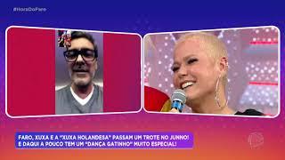 Andréa Sorvetão leva Xuxa holandesa para as ruas de São Paulo