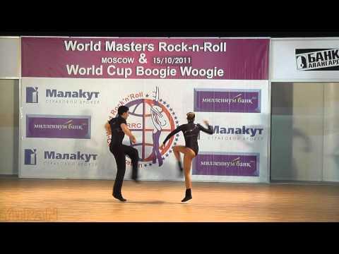 Ivan Klimov & Olga Bystrova - World Masters Moskau 2011