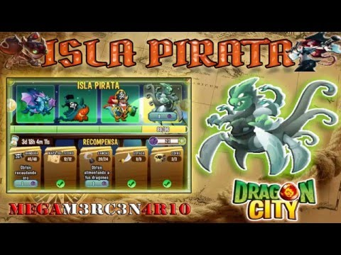 Como sacar el dragon Kraken - Isla Pirata - Dragon City 2016