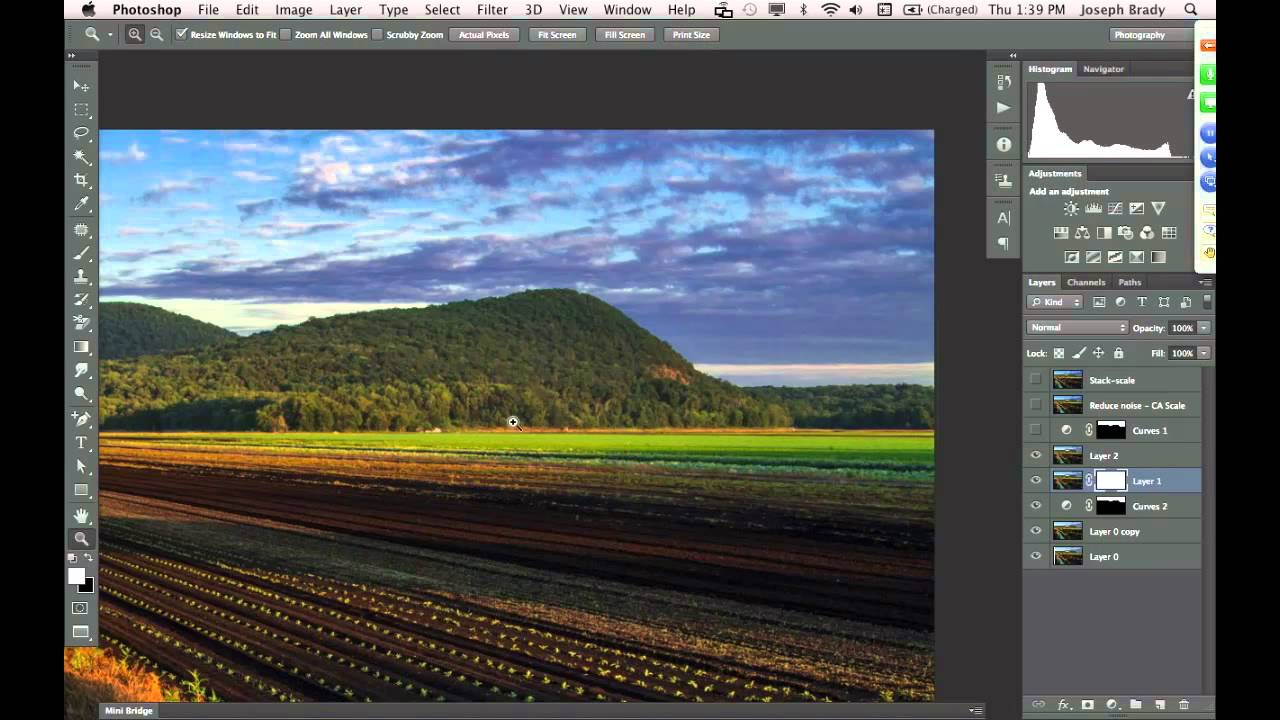 Photo Editing In Photoshop CS6 & CC - YouTube