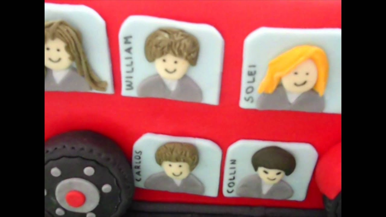 How To Make A London Bus Cake