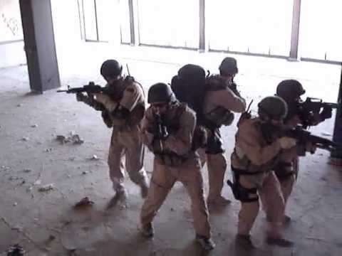 Blackwater Close Quarter Combat training in Baghdad Image 1