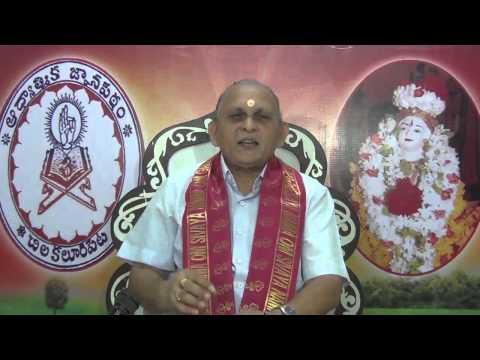 """""""Upadesa Saram"""" Of Bhagavan Sri Ramana Maharshi : Day 13 :Shlokam 21  22 : Sri Chalapathirao"""