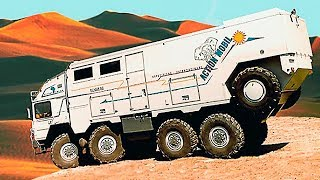 YOU WON'T BELIEVE WHAT THIS VEHICLE CAN DO. THE COOLEST MEANS OF TRANSPORT