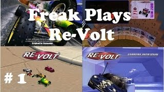 Re-Volt Gameplay Walkthrough Part 1 Bronze Championship