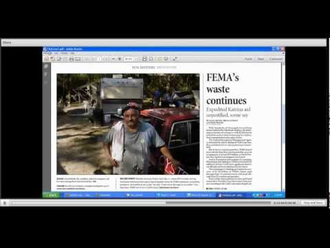 Sun-Sentinel reporters give advice on covering disasters, FEMA aid