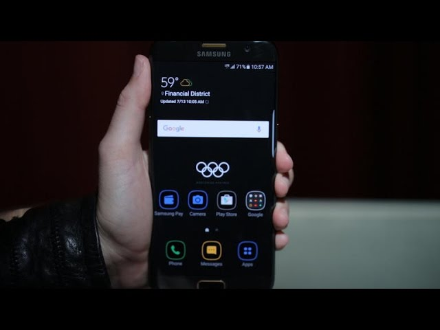 This Galaxy S7 Edge gets into the Olympic spirit