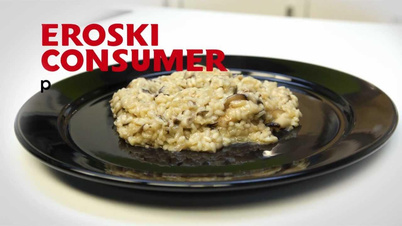 Eroski consumer risotto de setas con queso de cabra - Rissotto de setas ...