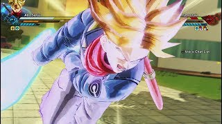 RAGE UNLEASHED! SSJ Trunks NEW Transformation GAMEPLAY! ONLINE Ranked Match! Dragon Ball Xenoverse 2
