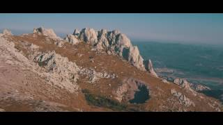 AMAZING CROATIA from the sky in 4K // VELEBIT Mountains
