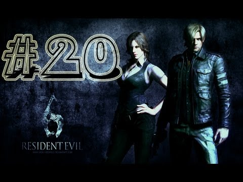 Tiburón Zombie || Resident Evil 6 || Campaña Leon || Parte 3.4 || Guia (walkthrough)