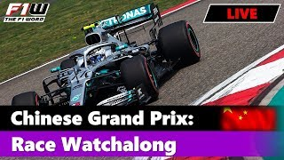 Chinese Grand Prix: Race Commentary and Chat