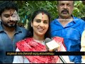 Suresh Gopi's family in Thrissur for NDA Election Campaign   Election 2019