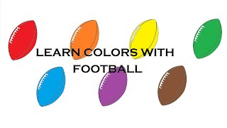 Learn easily Colors with Football