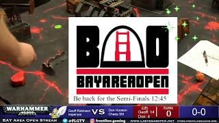 Bay Area Open 2019 Geoff Robinson vs Don Hooson