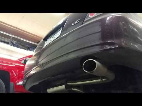 2010 Scion tC with TRD exhaust