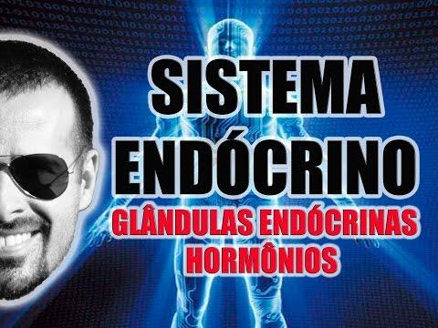 Vídeo Aula 033 - Sistema Endócrino: As glândulas endócrinas e os hormônios secretados por elas