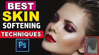 Photoshop tutorial: Skin retouching - Special technique || Retouching Photoshop Tutorials