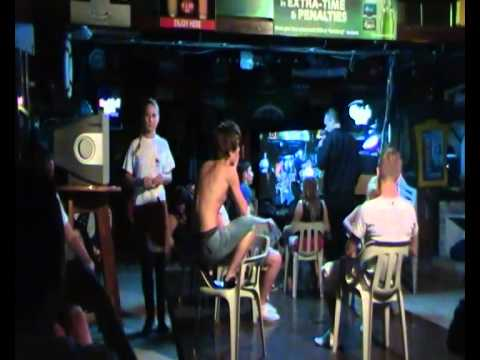 Orgasm Vibrating Chair Stage Hypnotist Dean Saunders video