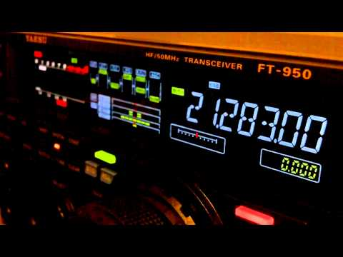 Ham Radio DX QSOs V31MD Yaesu FT-950