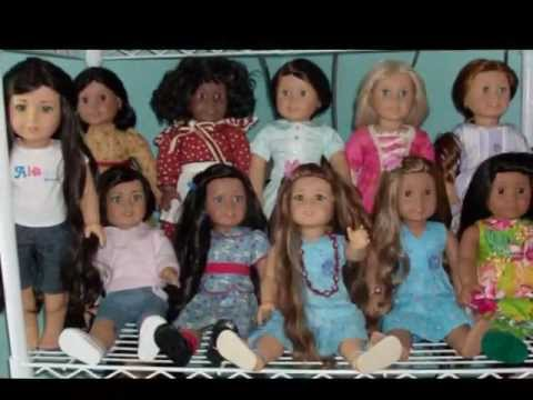 My AmericanGirl dolls & their personalities