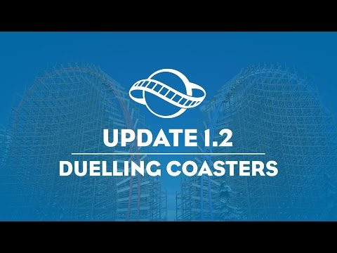 Planet Coaster - Spring Update: Duelling Coasters