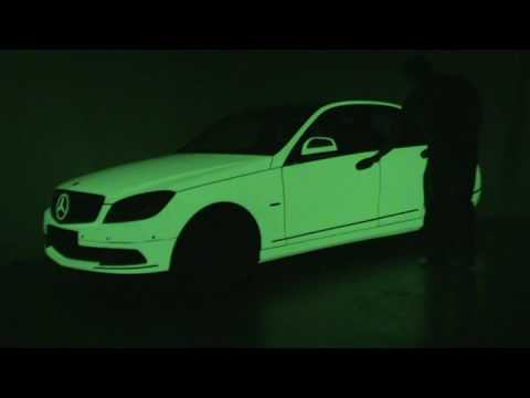 Carwrap Glow in the Dark