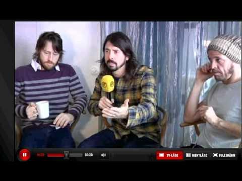 Foo Fighters Interwiev