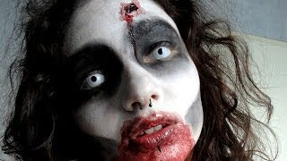 Easy Zombie make up / Maquillage de zombie facile