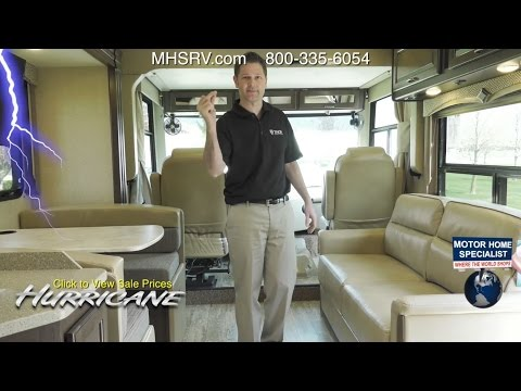 Luxury 2017 Thor Hurricane Class A RV Changes  Our Best Prices At MHSRVcom