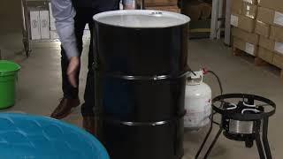 DIY ...power of atmospheric pressure  ...amazing cool science experiment