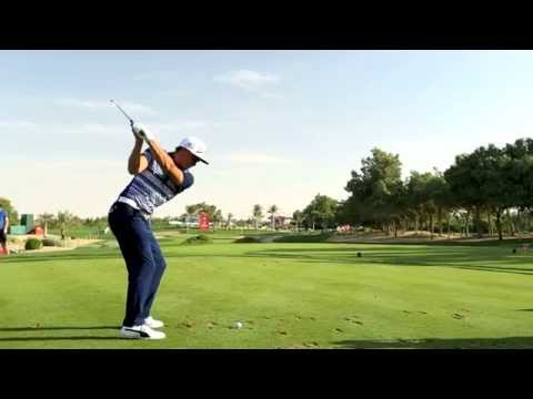 Rickie Fowler swing sequence
