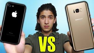 iPHONE 7 vs GALAXY S8: ¿CUÁL COMPRAR? - AQUÍ TÚ RESPUESTA