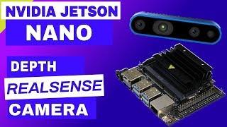 Jetson Nano + RealSense Depth Camera