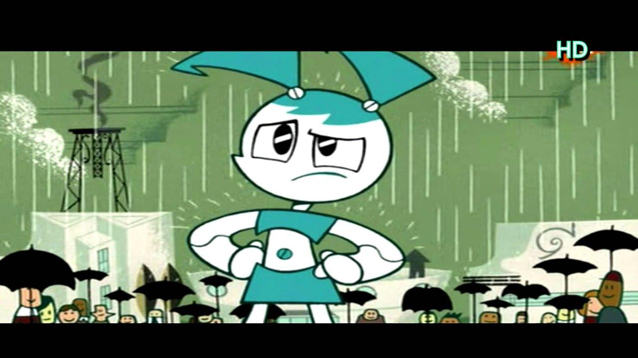 Teenage robot intro hd german deutsch mit lyrics youtube for My life as a teenage robot opening