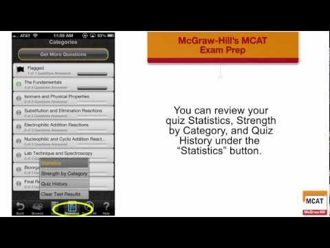 McGraw-Hill MCAT Exam Prep