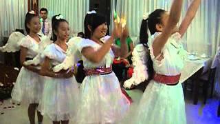 Khúc hát mừng sinh nhật, nhóm múa Thiên Thần