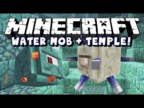 Minecraft Snapshot 14w25a Water Boss And Temple