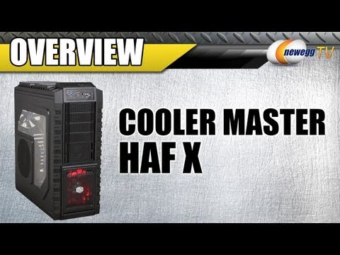 Unboxing: COOLER MASTER HAF X RC-942-KKN1 Black Steel/ Plastic ATX Full Tower Computer Case